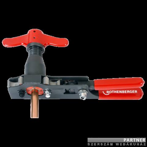 Rothenberger Roflare Revolver metrikus lengő peremező készülék