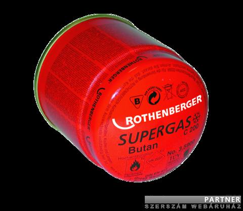 Rothenberger Supergas C200 ILL gázpalack