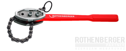 Rothenberger Heavy Duty láncos csőfogó 4""
