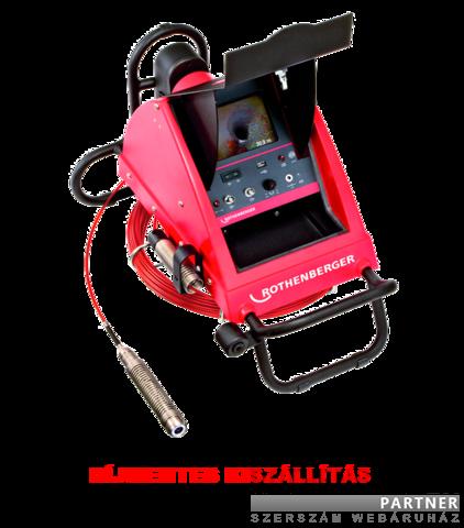 Rothenberger ipari csővizsgáló kamera Rocam mob. color PDM csat. vizsgáló