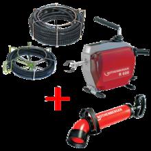 Rothenberger R600 duguláselhárító gép ajándék pumpával