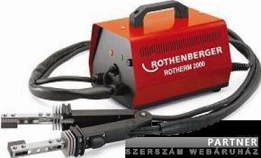 Rothenberger Rotherm 2000 elektromos lágyforrasztó készülék