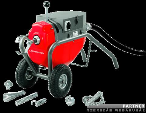 Rothenberger R 80 ipari csőtisztító és duguláselhárító gép